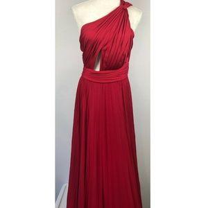 JILL JILL STUART One Shoulder Gown 8